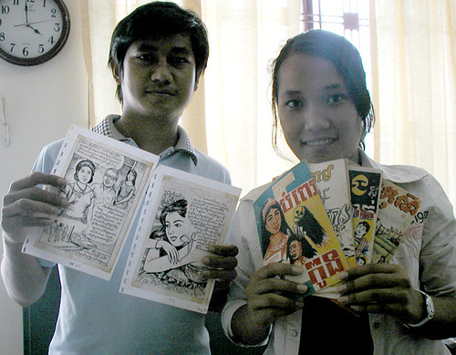 Siem Reap Exhibition & New (old) comics!