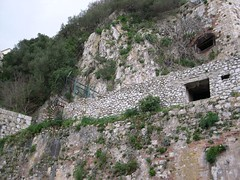 siege tunnels from outside