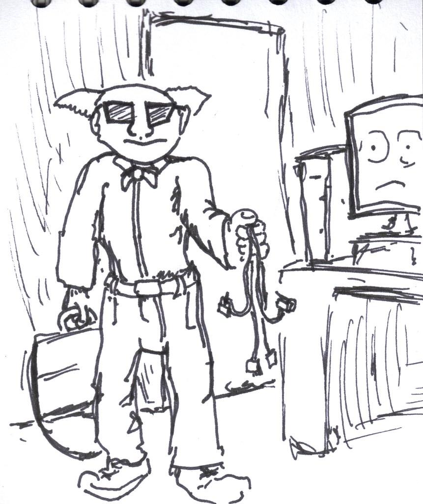 sketch 47 Steven Kings IT