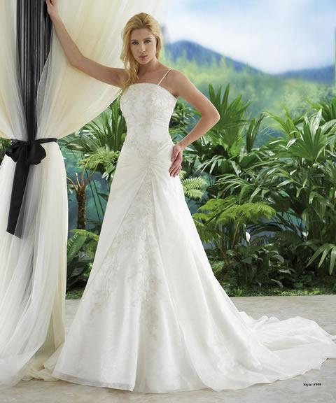 Vestidos de novia baratos-959A