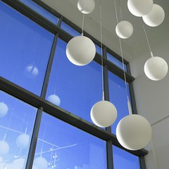 balls in the air (limerickdoyle) Tags: lighting glass office lightfixtures enterance canong9
