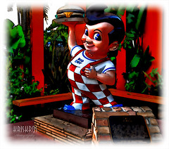 hey, there's big boy (Kris Kros) Tags: california ca light boy usa anime digital photoshop painting la losangeles big nikon paint with cartoon digitalpainting socal kris burbank d200 2008 cartoons bobs kkg bobsbigboy paintwithlight cartooning cs3 kros kriskros kk2k kkgallery