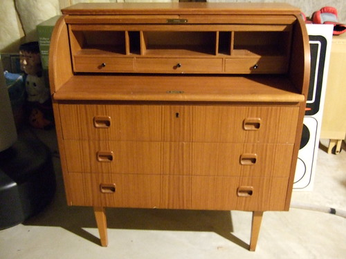 Swedish Roll-top Desk
