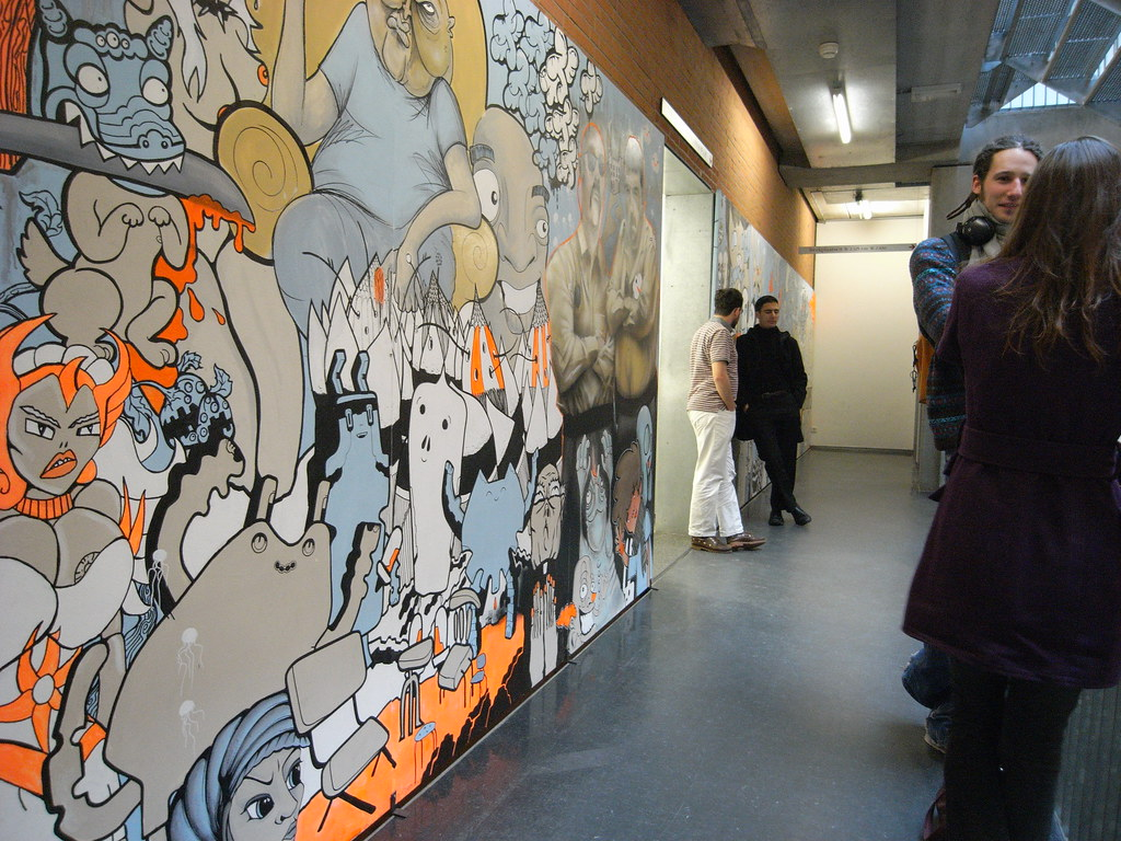 2D Mural @ WdKA