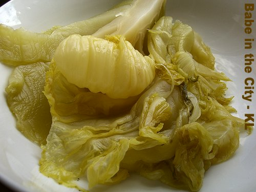 Harm Choy (pickled mustard cabbage)
