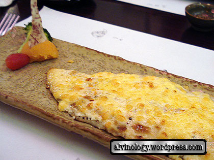 cheese baked fish