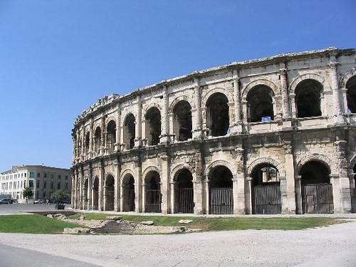 Anfiteatro Romano, Nimes, Francia