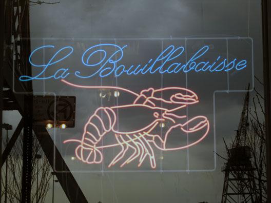 La Bouillabaisse Sign