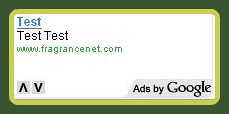 Google AdSense Test Ads