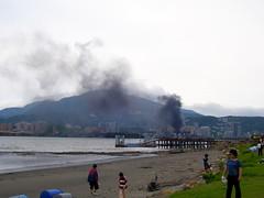 火災現場目擊