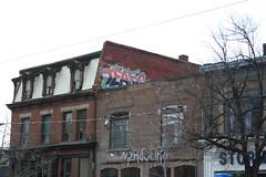Tease (covered filth) Tags: street toronto ontario canada art graffiti canadian tease bombs 2008