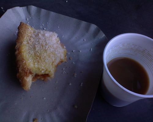 Tipico desayuno en la ECI