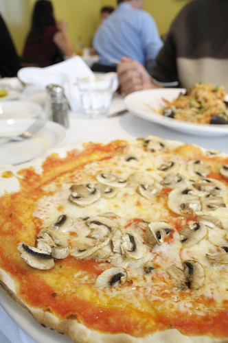 Fungi Pizza, Pazzia Caffe and Trattoria, San Francisco