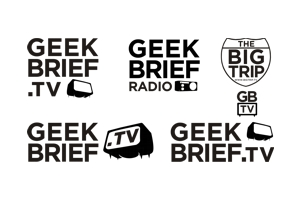 Geek Brief logo by John Leschinski
