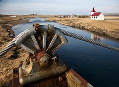 Bound (tnouza) Tags: bridge church canon island eos iceland 5d bound binding ísland