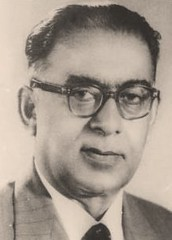 Mr. Feroz Khan Noon, The Minister of Foreign Affairs of Pakistan (from 12 September 1956 to 7 October  1958)