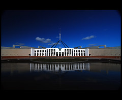 Parliament House, Canberra (heritagefutures) Tags: blue copyright house building pool architecture modern reflections concrete power contemporary capital australia parliament national government canberra hr dirk modernarchitecture act senate allrightsreserved parliamenthouse houseofrepresentatives representatives contemporaryarchitecture nationalcapital spennemann photofaceoffwinner heritagefutures dirkhrspennemann copyrightdirkhrspennemann ausphoto
