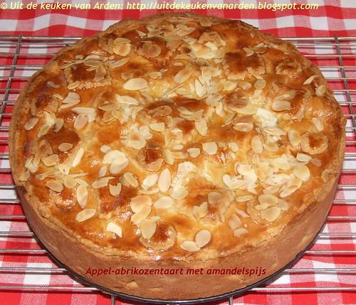 Appel-abrikozentaart