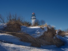 Whitefish Point Lighthouse (daveumich) Tags: upperpeninsula michigan winter 2017 greatlakes lakesuperior whitefishpoint whitefishpointlighthouse lighthouse