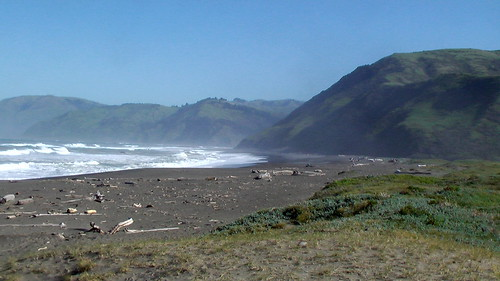 hiking the Lost Coast Trail, California