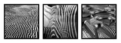 stripey tryptich (pho-Tony) Tags: white black detail beach monochrome trois square three sand triptych pattern candy box chocolate stripes tide vacuum stripe band ridge zebra packaging series trio tri triplet triple tryptich crosby moulded threeinone