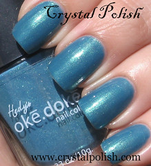 ok.dok. Steal This Teal (CrystalPolish) Tags: blue drugstore shimmer okdok stealthisteal