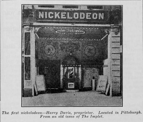 ¿Qué es un nickelodeon?