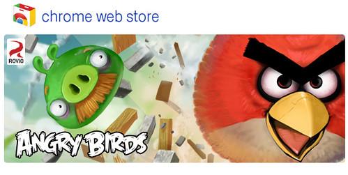Free Chrome Web App - Angry Birds Chrome Dimension