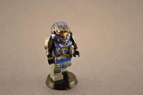 Custom minifig Lego Scale Carter Action Figure
