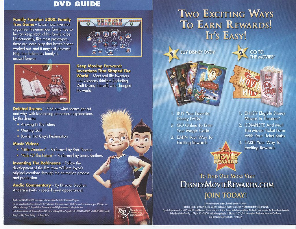 meet the robinsons dvd ebay uk