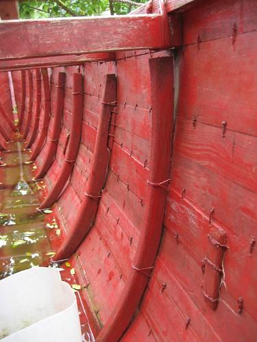 sailing canoe interior
