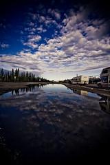 In Your Dreams (code poet) Tags: blue trees sky white reflection tree topf25 water topv111 topv2222 alaska clouds landscape puddle topf50 topv555 topv333 topv1111 topv999 100v10f 500v50f topv777 rv 1022mm tok rvs
