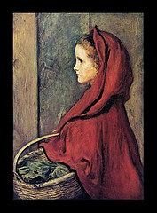 Red Riding Hood, by Millais (Martin Beek) Tags: family red portrait hot colour art victorian tutorial redridinghood millais royalacademy preraphaelitebrotherhood redshades thecolourred victorianart johneverettmillais victorianpainting allthingsred redtints marymillais theartofjohneverettmillais johneverrettmillais
