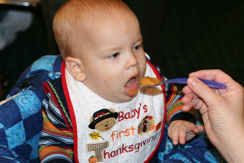 Eli's first Thanksgiving