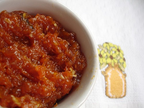Butternut squash compote – doce de abóbora