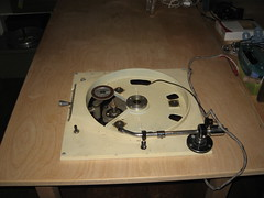 Top view, no turntable