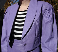 Lavender leather Jacket (Black Luna) Tags: ebay auctions current
