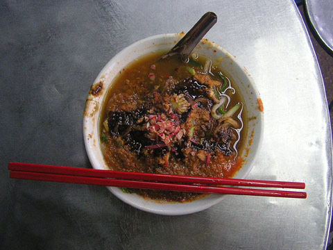 Assam Laksa from laksa air itam, Penang