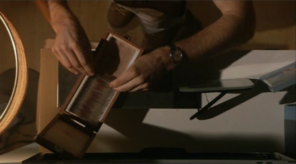 Dexter S Blood Slide Box Custom Or Found Possible Spoilers Rpf Costume And Prop Maker Community