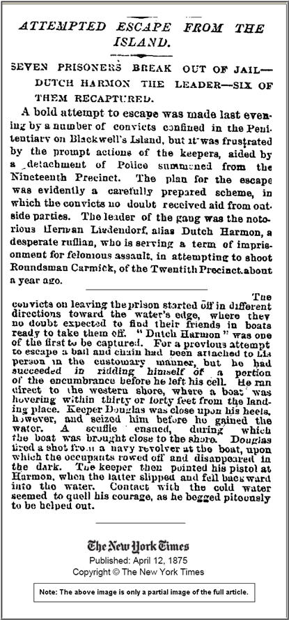 nyt - 1875 april 12 - prison break attempt SELECTIONS at 68p
