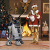 1979 Mc Quarrie Christmas C3PO and R2