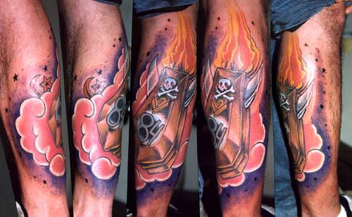 tattoo new school. Miguel Angel Custom Tattoo Artist
