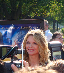 Michelle Pfeiffer at the Stardust premiere, by Jeremiah Christopher