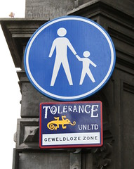 Unlimited tolerance - violence free zone by Andrew B47
