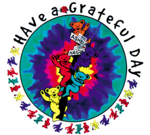 Have a Grateful Dead Day - dancing bears Haight Ashbury street sign