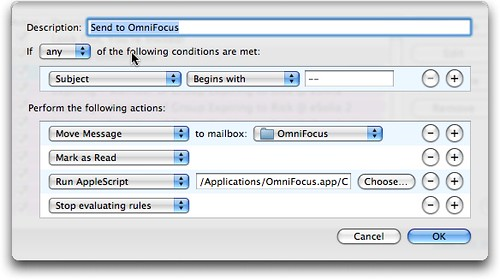 Mail.app Rules Send to OmniFocus