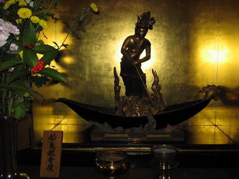 石光寺-船乗観音像