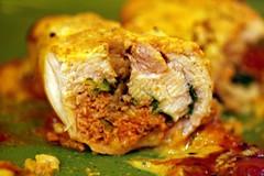 Innards of Lamb-stuffed Tandoori Chicken
