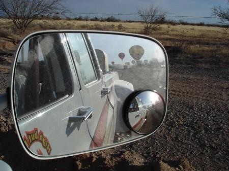 Arizona balloon chasing