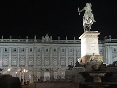 Palacio Real At Night, Madrid